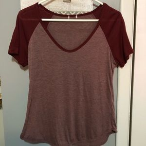 Aeropostale two-toned Top